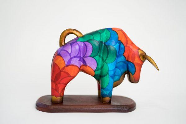 The mask mopa mopa bull art