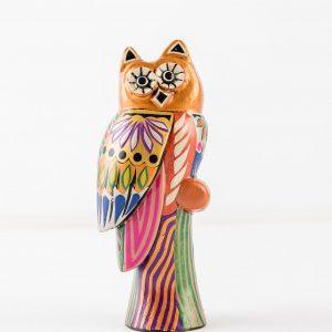 The mask Mopa Mopa owl art